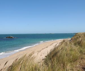 Shell Beach on Herm