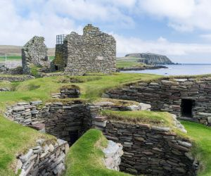 Prehistoric settlement of Jarlshof, Shetland Islands