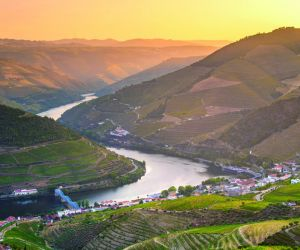 River Douro at sunset
