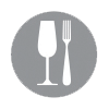 Gastronomy themed tour icon